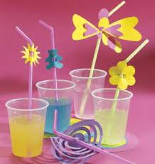 Déco table anniversaire enfant : les pailles - Trucs et Deco