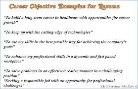 Career Objective For Social Worker Resume Publicassets Us