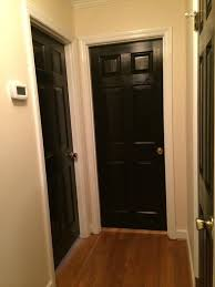 paint for interior doorsThree reasons to paint your interior doors black