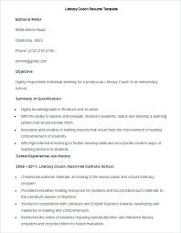 Example Of Teacher Resume Cool Reading Teacher Resume Yomm