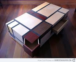 The 14 Stunning Multi Functional Coffee Tables Home Design Lover With  Multipurpose Coffee Table Plan