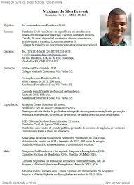 Corriculo Exemplo Exemplo De Curriculo Major Magdalene Project Org