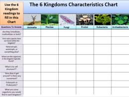 Kingdoms Of Life Readings And Characteristics Organizer Great Sub Plans