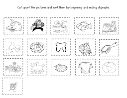 Awesome Collection of Sh Worksheets For 1st Grade On Description ...