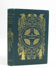 addison addison william steele illustrated by cleaver ralph the spectator in london