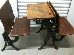 full old school desk