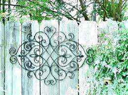 outdoor metal art decor cool for outside sun garden to lovely of wisconsin location