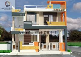 villa front elevation design front elevation design house map