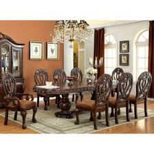 formal oval dining room sets. furniture of america beaufort solid wood formal 9-piece dining set oval room sets m