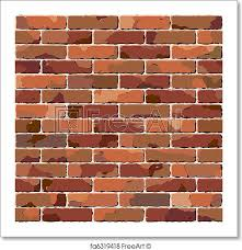 free art print of old brick wall seamless texture