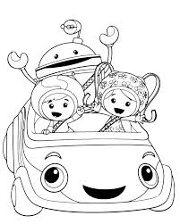 Small Picture Coloring Pages Free Printable Team Umizoomi Coloring Pages For