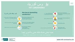 Coronavirus: meertalige informatie - Agentschap Integratie en Inburgering