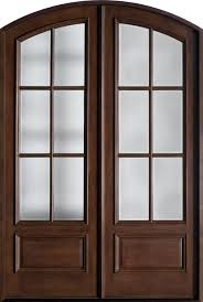 Front Doors double front doors with glass photos : Furniture: Interesting White And Round Glass Double Front Door ...