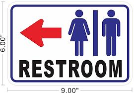 bathroom sign with arrow. Plain Arrow Clipart Restroom Sign With Arrow  ClipartFest Clip Art Black And White To Bathroom Sign With Arrow R