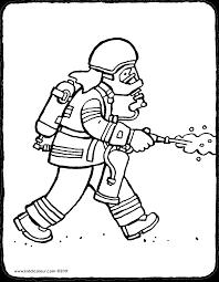 Brandweerman Kiddicolour