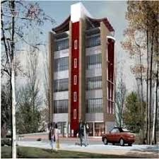 office block design. Office Building Design Block
