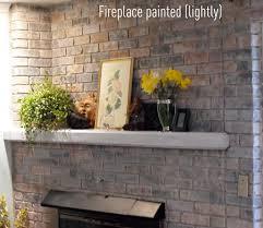 Painting Fake Brick Paneling Painting Bricks Is Easy The Girl Creative