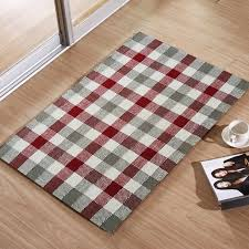 handmade premium quality multi cotton rug size 2x3 ft