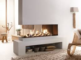 peninsula style contemporary fireplace lucius 140 by element4 fireplace ideas3 sided