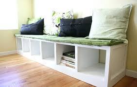 Entry Bench Cushion Covers Small Outdoor Bench With Cushion White
