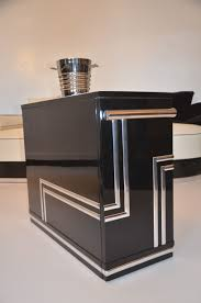 Art Deco Bar Design Art Deco Hausbar Bar Barwagen Chrom