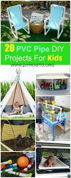 20 pvc pipe diy projects for kids fun with picture instructions