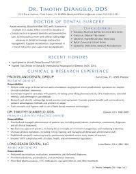 Dentist Healthcare Cv