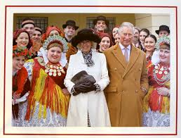 Christmas Card Photo Prince Charles And Camilla Unveil Their Christmas Card