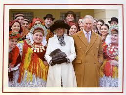 Photo Christmas Card Prince Charles And Camilla Unveil Their Christmas Card