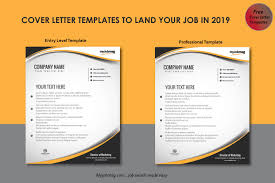 best cover letter best cover letter template to land your dream job in 2019