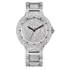 Ladies Designer Bling Watches Amazon Com Swarovski Crystal Accented Womens Designer