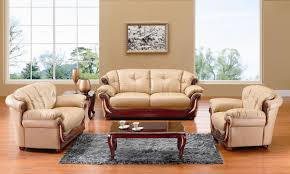 beige furniture. beige couch living room with cherry wooden accents furniture e