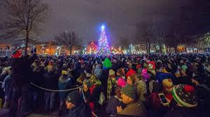Erie County Festival Of Lights Downtown Dlights Brightens Erie Friday December 6 Wjet