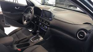 2018 hyundai kona interior. interesting interior allnew 2018 hyundai kona bsegment suv launched in south korea depth in  interior and exterior view intended hyundai kona interior