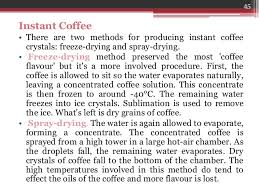 Instant Coffee Production Process Flow Chart Www