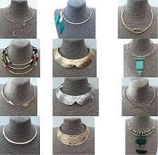 Torque Torc <b>Choker</b> Slave Collar <b>Necklace Geometric Bohemian</b> ...