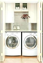 laundry room makeovers charming small. Shelving Over Washer And Dryer Laundry Shelves Stylish Closet For A Small Room Makeovers Charming