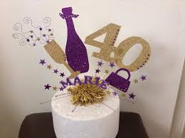 Champagne Bottle Cake Decoration Large champagne bottle and glass cake topper or centre peice with 22