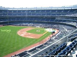 view seating charts new at stadium terrace level virtual chart yankee