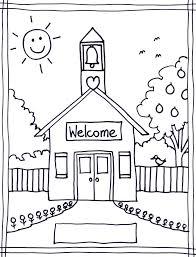 Back To School Coloring Pages Free Printables Image 22 \u2026 | Pinteres\u2026