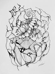 これはおしまい 蓮の花から転じて水面とデメキン さっ次いってみ