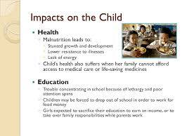 global food insecurity effects on children what the world eats  6 impacts