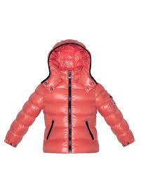 Bady Shiny Puffer Jacket, Pink, Sizes 2-6, Girl s, Size  3T - Moncler