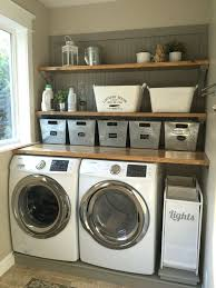 laundry room furniture. laundry room makeover wood counters walmart tin totes pull out bins furniture u