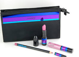 mac cosmetics enchanted eve lip bag pink holiday 2017 review
