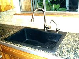 top mount sink on granite drop in sinks for granite granite kitchen sinks drop in kitchen