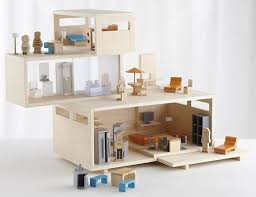 contemporary dollhouse furniture. Perfect Contemporary Architecture Modern Dollhouse Furniture Doll House Stylish Throughout Idea  4 For And Accessories Nz Sale Kits Contemporary