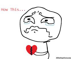 how this feels | Sad broken heart | Know Your Meme via Relatably.com