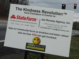 insurance agency supports the kindness revolution on kindness corner canton ga patch