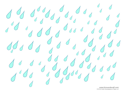 weather for kids cloud templates and weather coloring pages rain template rain drops